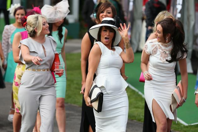 Best Photos from Aintree Ladies Day
