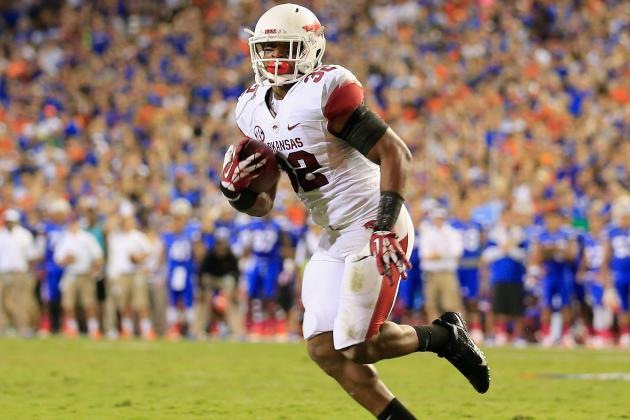If RB Alex Collins Is Unhappy, Jonathan Williams Can Carry the Load for Arkansas