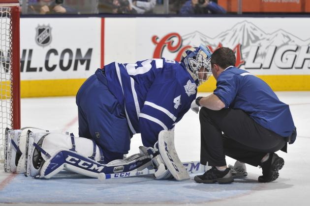 Jonathan Bernier Injury: Updates on Maple Leafs Star's Knee and Return