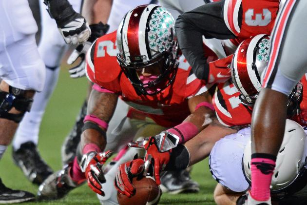 Big Ten Football Position Battles 2014: How Ohio State Replaces Ryan Shazier