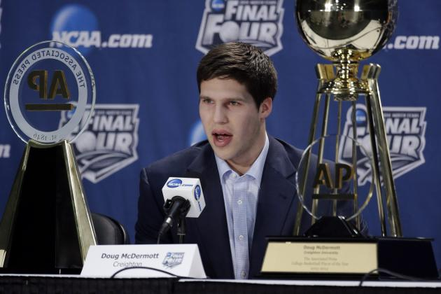 Doug McDermott Wins 2014 Wooden Player of the Year Award