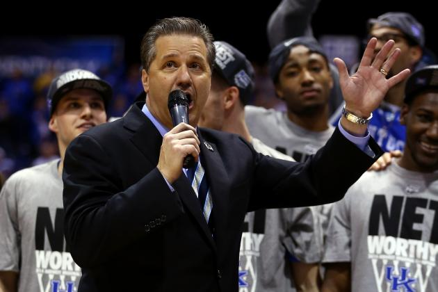 "John Calipari Renames ""1-and-Done"" as ""Succeed and Proceed"""