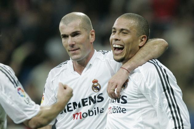 Excellent Selfie Emerges of Young Zidane and Ronaldo