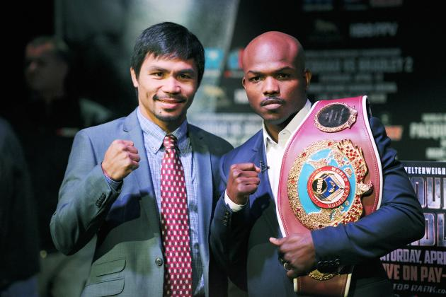 Pacquiao vs. Bradley Weigh-In: Full Breakdown Prior to Major Fight
