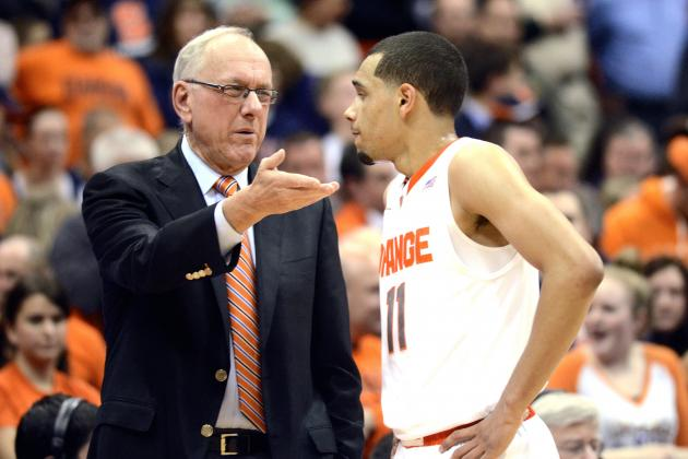 Jim Boeheim Discusses Tyler Ennis' Decision to Enter 2014 NBA Draft