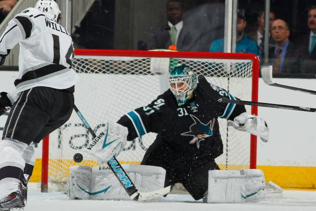 Sharks' Win over Kings Important to Niemi