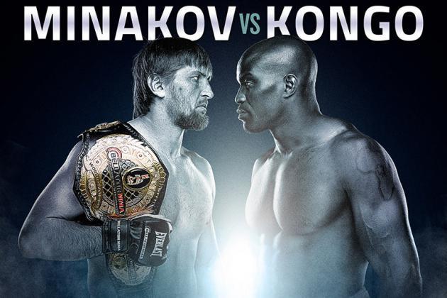 Bellator 115 Results and Recaps from Vitaly Minakov vs. Cheick Kongo