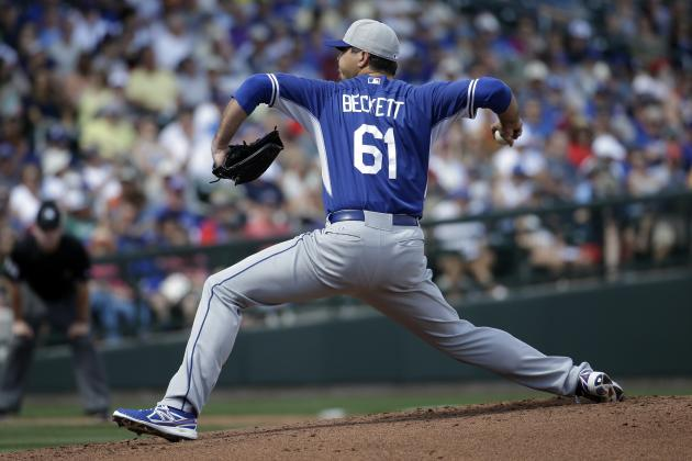 Josh Beckett Leaves Rehab Start with Injury