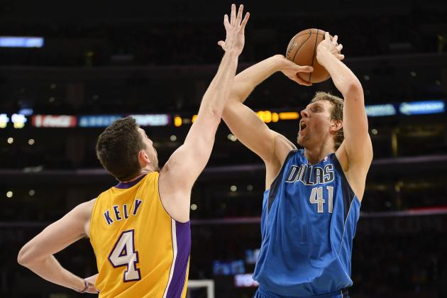 Dirk Nowitzki Passes Dominique Wilkins for 11th on All-Time NBA Scoring List