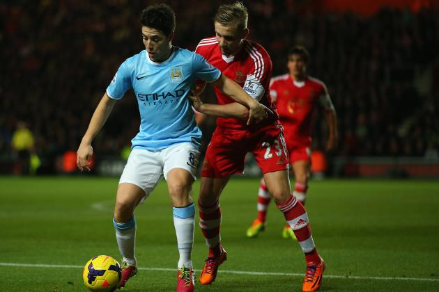 Manchester City vs. Southampton: Live Player Ratings for the Citizens