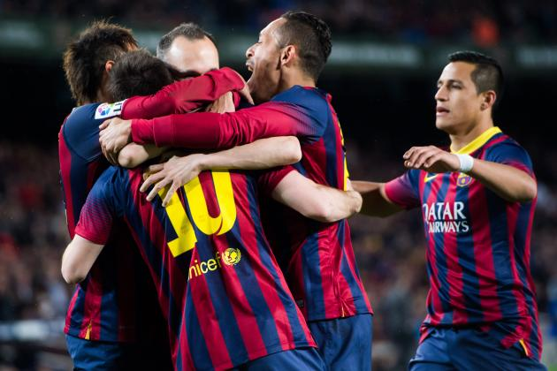 Barcelona vs. Real Betis: La Liga Live Score, Highlights, Report