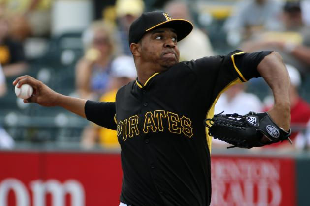 Pittsburgh Pirates' Stolmy Pimentel Raising Eyebrows Early in 2014