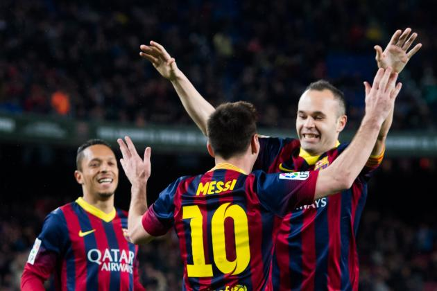 Barcelona vs. Real Betis: Live Player Ratings for Barcelona