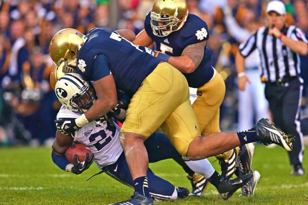 A Close Look at the Notre Dame Defensive Line Duo of Louis Nix and Stephon Tuitt