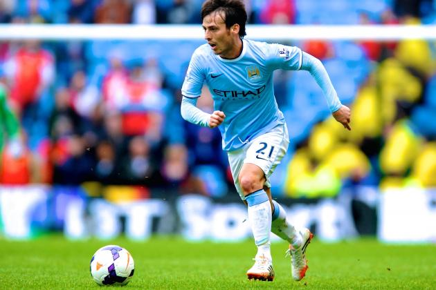David Silva and Samir Nasri Set Manchester City Up for Critical Liverpool Clash