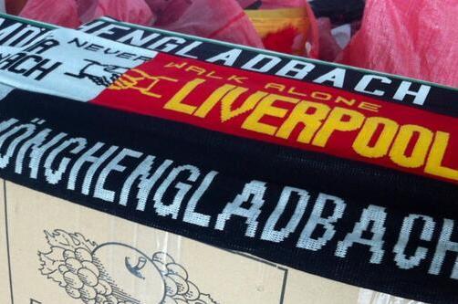 Borussia Monchengladbach Fans Send Liverpool YNWA Scarves for Hillsborough