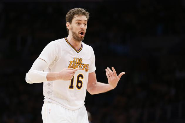 Pau Gasol Will Reportedly Have Several Options In 2014 Free Agency