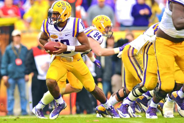 LSU Spring Game 2014: Live Score, Top Performers and Analysis