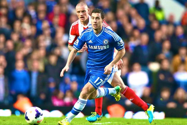 Eden Hazard's Second-Half Introduction Sparks Chelsea in Victory over Stoke