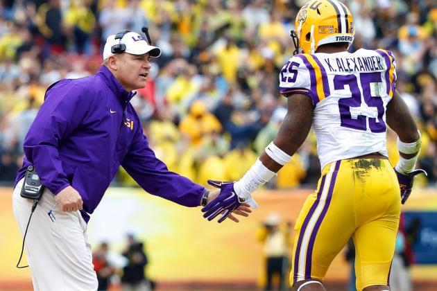 LSU Spring Game 2014: Recap, Highlights and Analysis