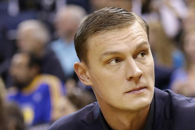 Utah Jazz Waive Andris Biedrins to Claim Rookie Erik Murphy from Bulls
