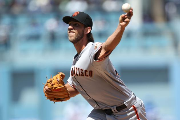 Bumgarner, Offense Power San Francisco Giants to 7-2 Victory over Dodgers