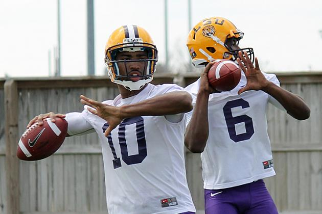 LSU Spring Game 2014: Live Game Grades and Analysis