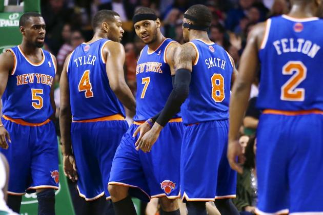 Could New York Knicks Stumble into 1st-Round Playoff Upset?