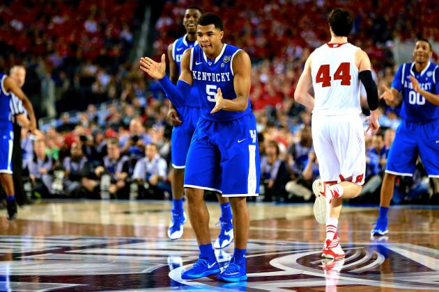 Kentucky vs. Wisconsin: Live Score, Highlights for Final Four