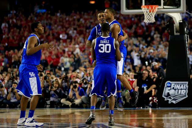 Wisconsin vs. Kentucky: Score, Twitter Reaction and More from Final Four 2014