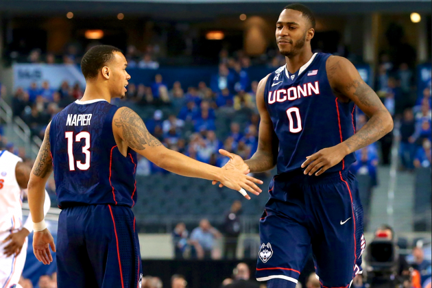 UConn Much More Than 1-Man Show in Ousting Florida to Reach 2014 NCAA Title Game