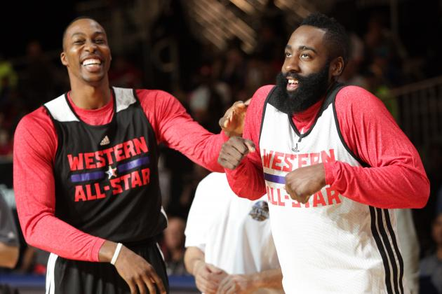 Houston Rockets Campaign for MVP Votes for Both Dwight Howard and James Harden