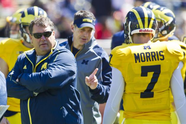 Michigan Spring Game 2014: QB Battle Won't Be Ending Anytime Soon