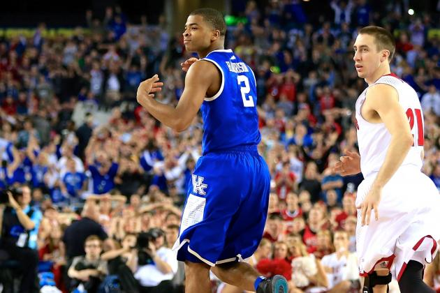 More Late Magic from Aaron Harrison Sends Cardiac Cats to 2014 NCAA Title Game