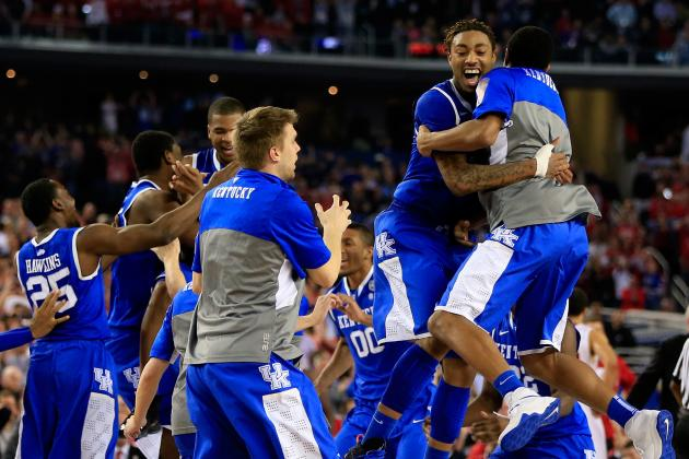 NCAA Tournament 2014: Updated Bracket and Odds for UConn vs. Kentucky Title Game