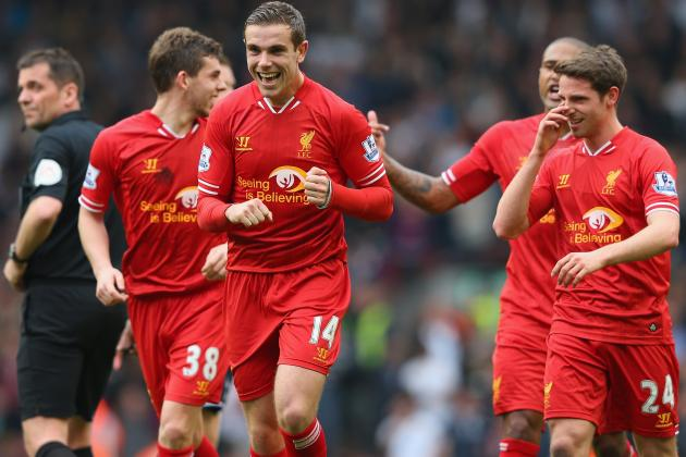 West Ham United vs. Liverpool: Live Player Ratings for Brendan Rodgers' Reds