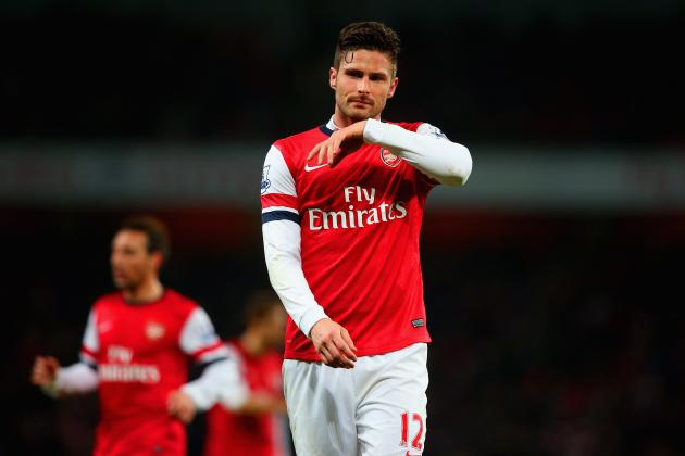 Twitter Reacts to Olivier Giroud, Lukas Podolski's Performances vs. Everton