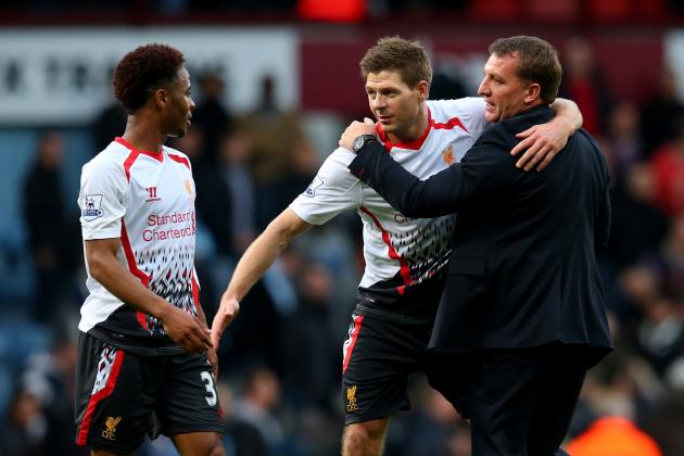 Steven Gerrard and Raheem Sterling Key to Liverpool's Tactical Flexibilty