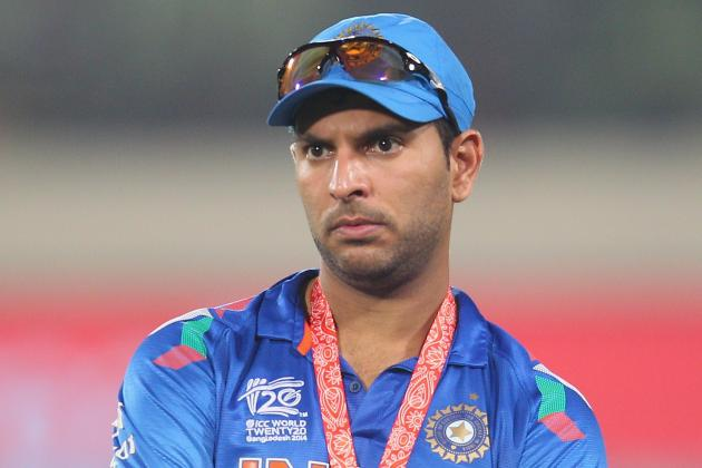 Reports: Yuvraj Singh's House Stoned in the Aftermath of India's WT20 Defeat