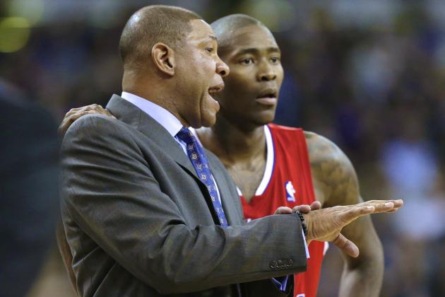 Doc Rivers: Jamal Crawford 'Certainly' Deserves to Win Sixth Man of the Year