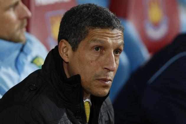 Chris Hughton Fired as Manager of Norwich City