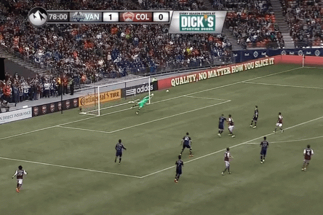 GIF: Jose Mari's Insane Finish for Colorado Rapids
