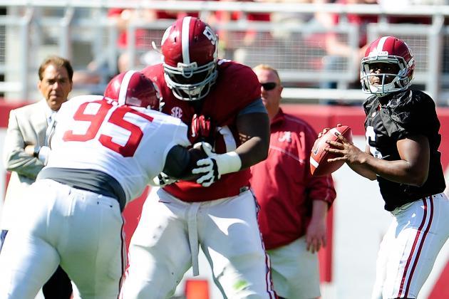 Alabama Football: Updating the Crimson Tide's 2014 Quarterback Competition