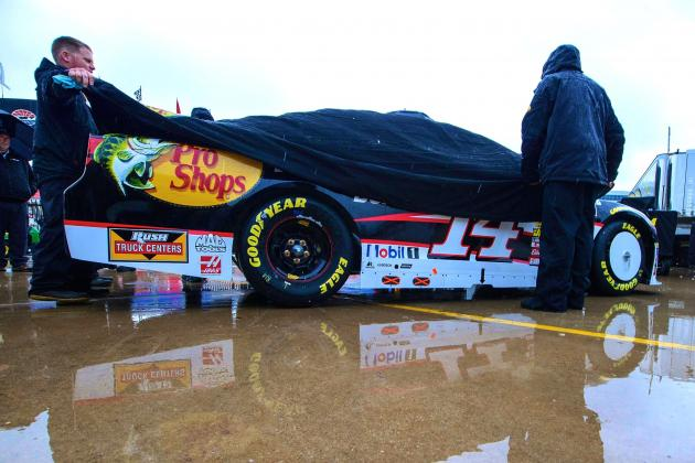 NASCAR's Duck Commander 500 Postponed Until Monday Due to Rain