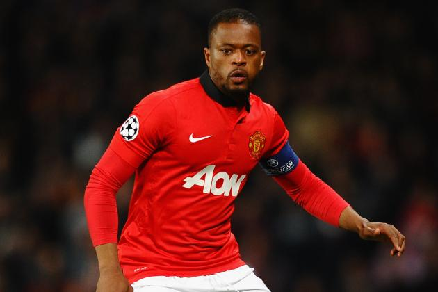 Evra Expects to Be Fit for Bayern Munich