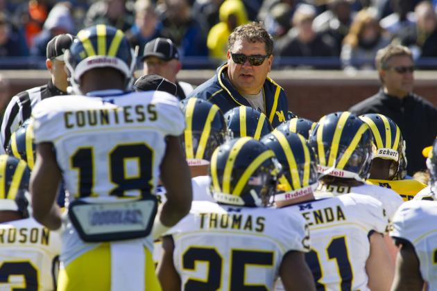 Michigan Football: Brady Hoke's 4 Biggest Concerns Post-Spring Practice