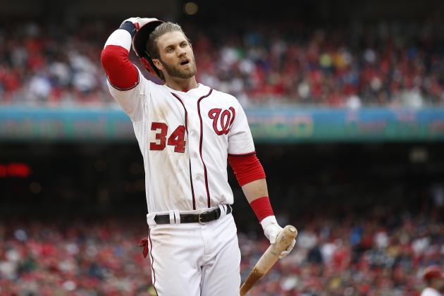 Matt Williams Should Move Bryce Harper Back to 6th Spot in Nationals' Lineup