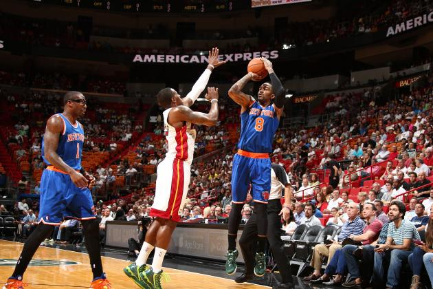 Knicks' J.R. Smith Sets NBA Single-Game Three-Point Attempts Record