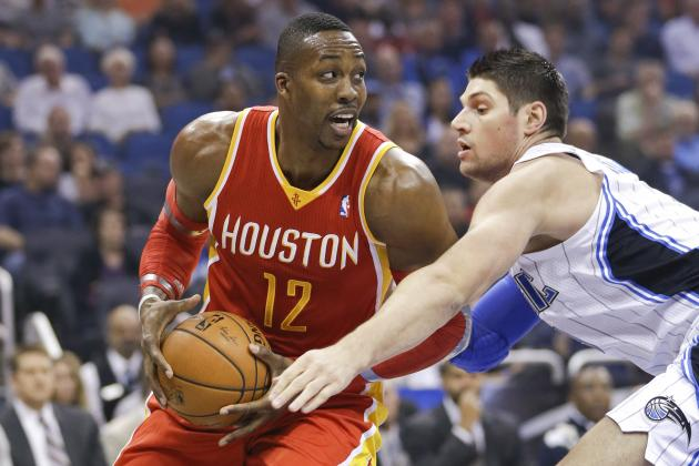 How Much of Houston's Playoff Hopes Are Tied to Dwight Howard's Ankle?
