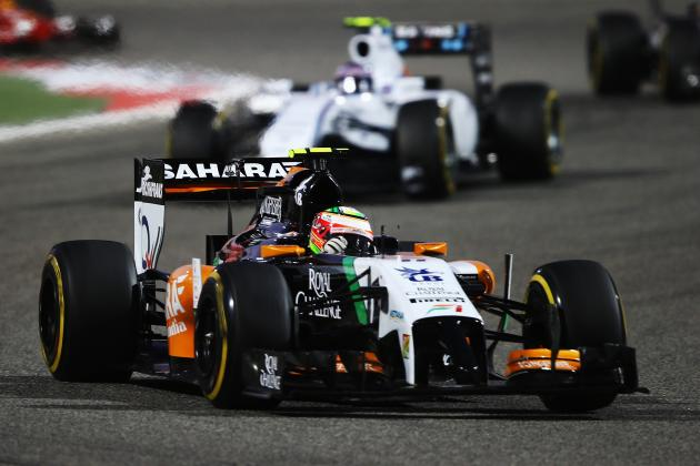 Williams and Force India Heading in Opposite Directions After Bahrain Grand Prix